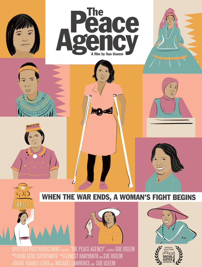 Peacy Agency Poster
